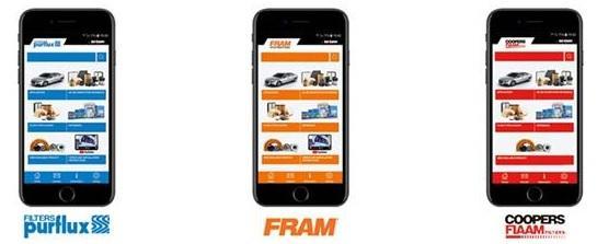 Mobilná aplikácia pre hľadanie filtrov Sogefi