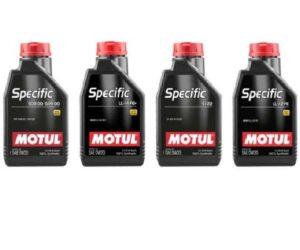 Novinky z radu olejov MOTUL Specific