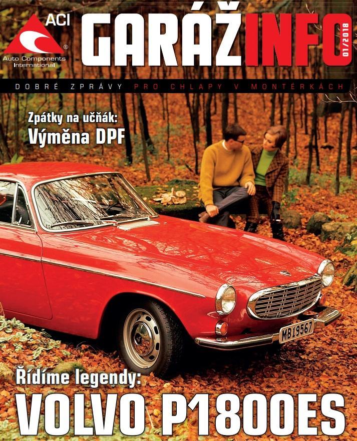 Automagazín Garážinfo 01/2018 od ACI