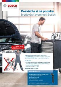 Posvieťte si na ponuku brzdových systémov Bosch