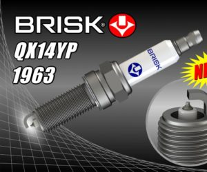 BRISK zaradil do sortimentu sviečku QX14YP