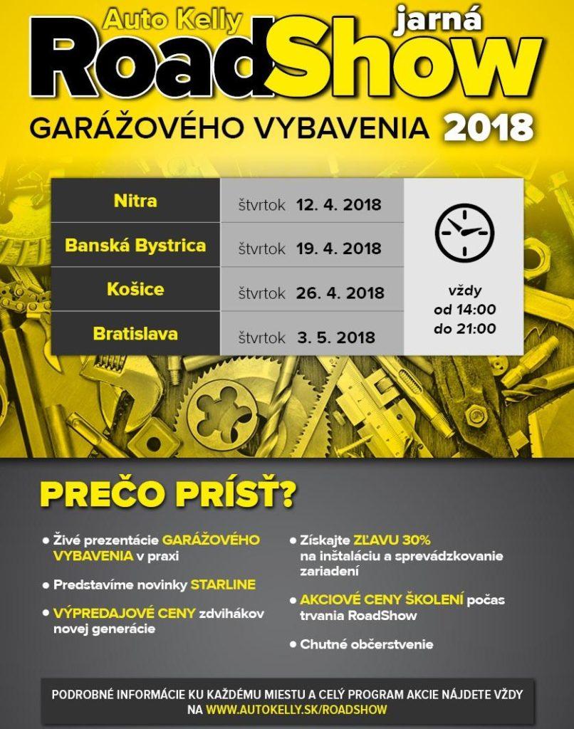 Jarná RoadShow 2018 s Auto Kelly
