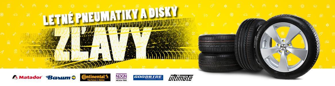 Zľavy na letné pneumatiky a disky v Auto Kelly