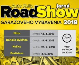 Jarná RoadShow 2018 s Auto Kelly
