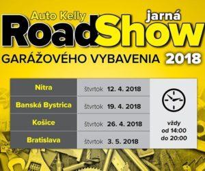 RoadShow Garážovky pricestuje vo štvrtok 26.4. do Košíc