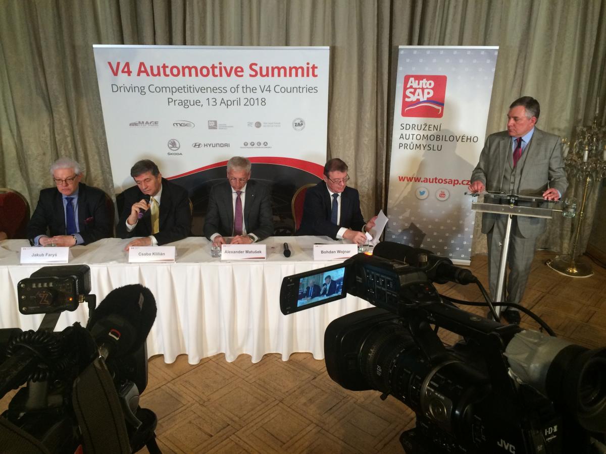 V4 Automotive Summit v Prahe