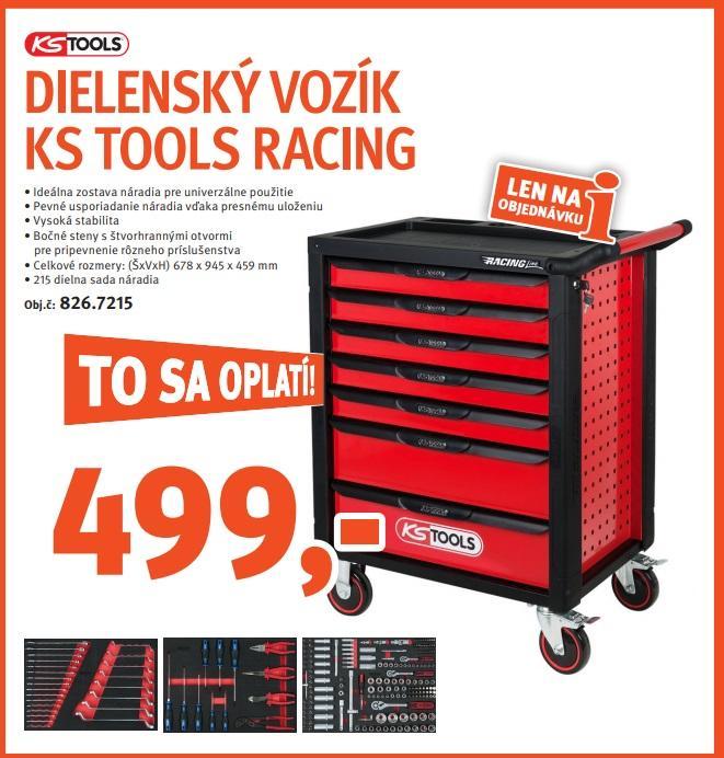 Dielenský vozík KS Tools za super cenu v TROSTe