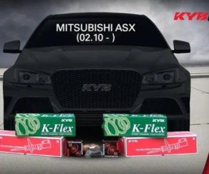KYB montážna inštrukcie: Výmena predných tlmičov Mitsubishi ASX