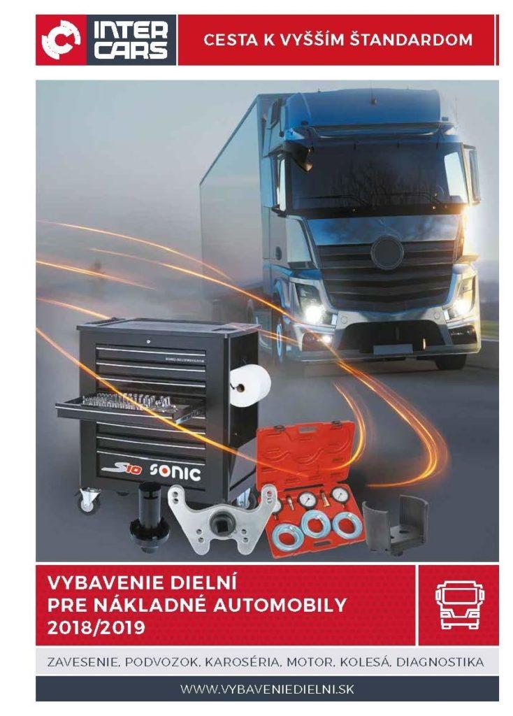 Inter Cars katalóg vybavenia autoservisov pre nákladné automobily