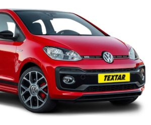 Brzdové doštičky pre nový Volkswagen Up GTI od Textaru