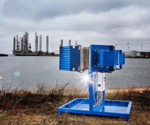 Spoločnosť NISSENS testuje výrobky v Severnom mori