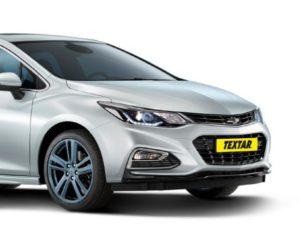 Textar vie brzdové doštičky na nový Chevrolet Cruze Hatchback a iné