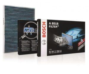 Nové kabínové filtre Bosch Filter+
