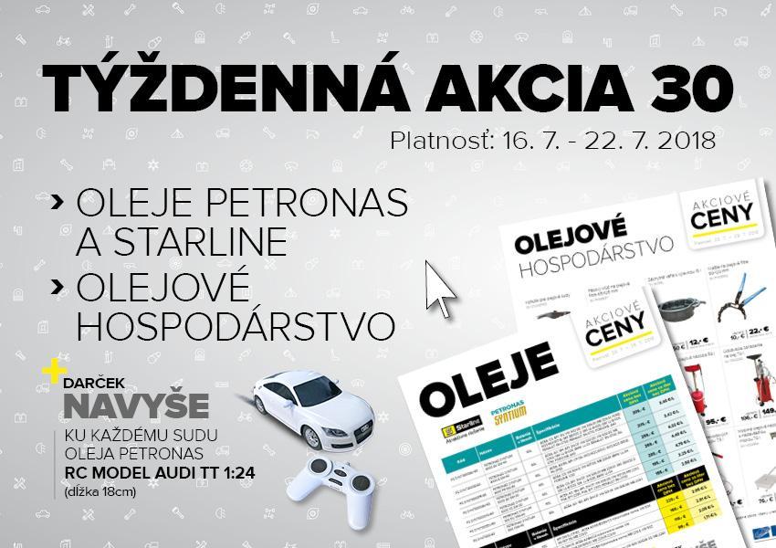 Oleje Petronas a Starline ponúka Auto Kelly