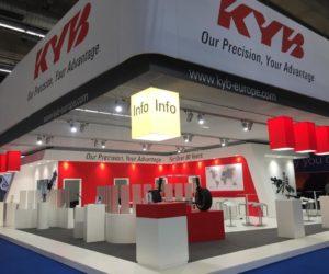 KYB bude vystavovať na Automechanice vo Frankfurte
