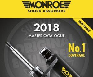 Tenneco vydáva nový katalóg tlmičov Monroe®