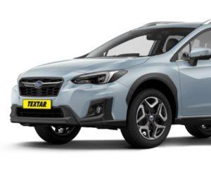 Textar vyrába brzdové doštičky pre nové Subaru
