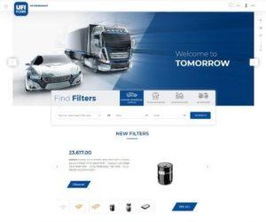 Spoločnosť UFI Filters spúšťa nové webové stránky