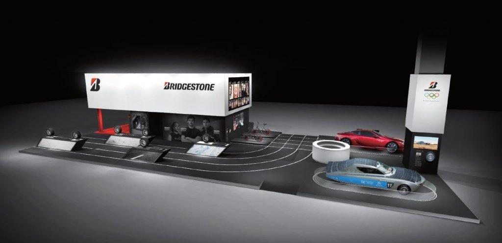 Bridgestone na Parížskom autosalóne 2018