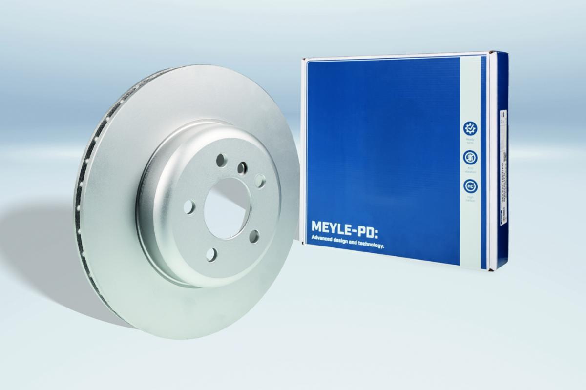 MEYLE-PD brzdové kotúče z jedného kusu s kompletným povrstvením
