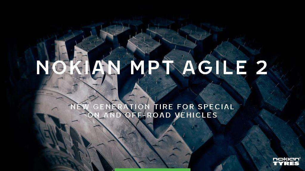 Nokian MPT Agile 2