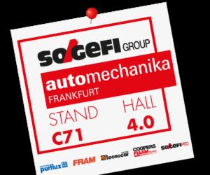 Sogefi predstaví svoje novinky na veľtrhu Automechanika 2018