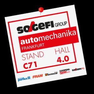 Sogefi představí novinky na Automechanice 2018
