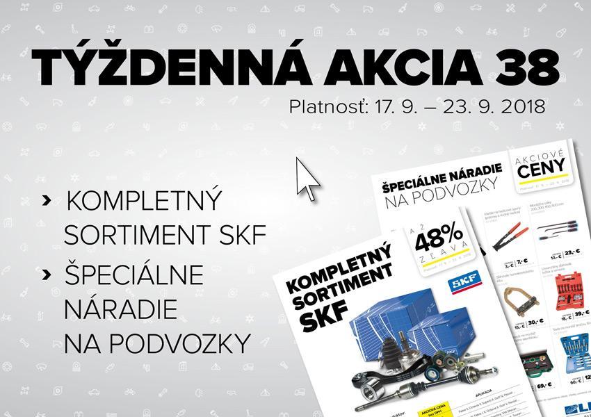 Akcia na sortiment SKF a špeciálne náradie na podvozky v Auto Kelly