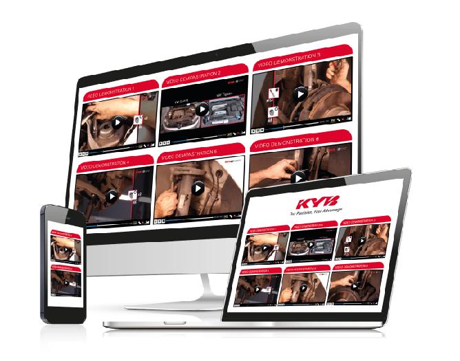 KYB oslavuje, lebo ich montážne videá videlo viac ako 4 milióny divákov