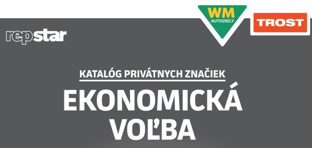 Nový katalóg privátnych značiek Trost