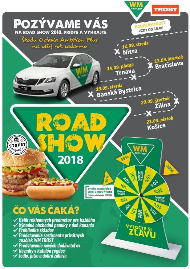 TROST ROAD SHOW 2018
