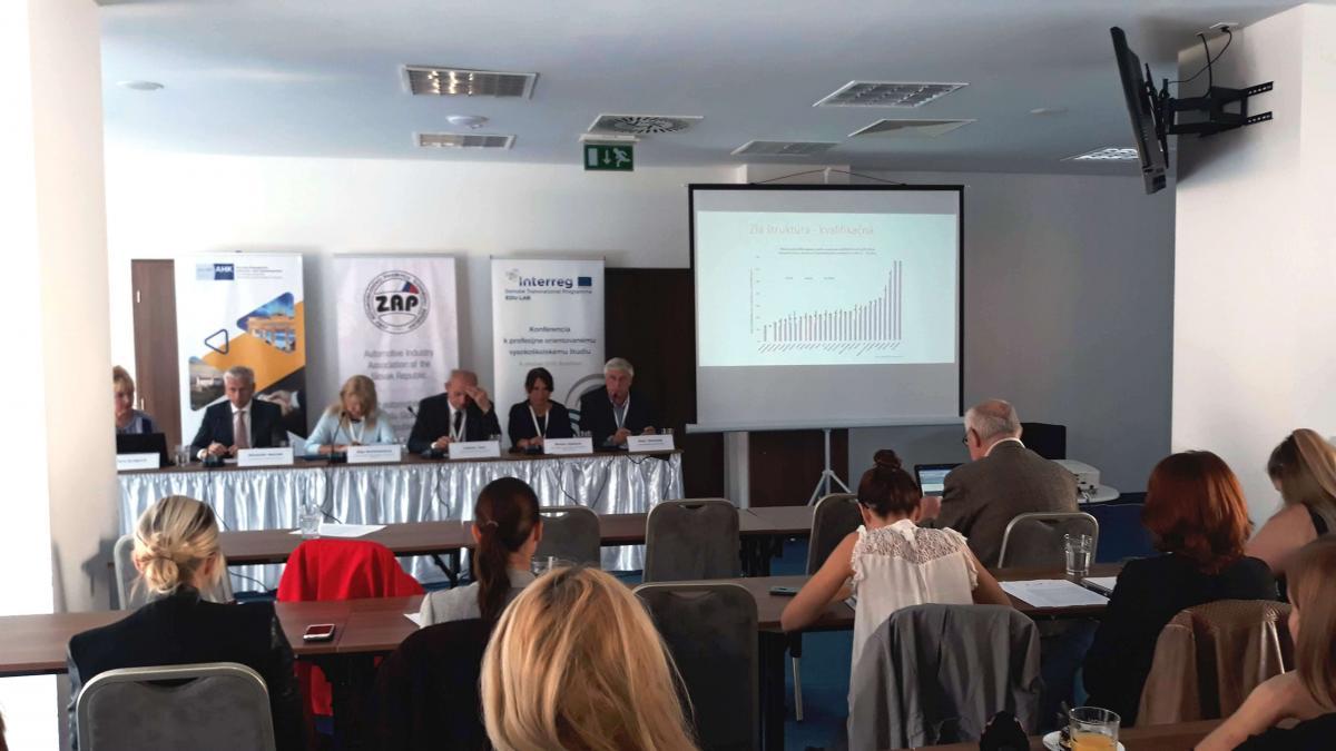 Tlačová konferencia sa uskutočnila dne 9.októbra v Bratislave