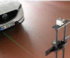 ADAS riešenie kalibrácií asistenčných systémov Bosch SCT 815