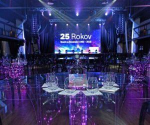 Bosch oslávil jubileum - 25 rokov na Slovensku