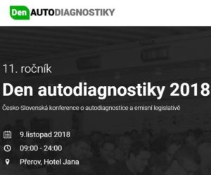 Den autodiagnostiky 2018 už 9. novembra