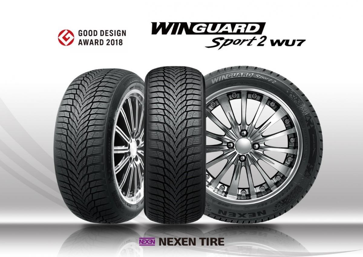 Pneumatika Nexen Winguard Sport 2 získala další ocenění. Tentokrát Good Design Award 2018