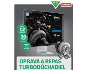 Oprava a repas turbodúchadiel a vstrekovačov novo u firmy Trost