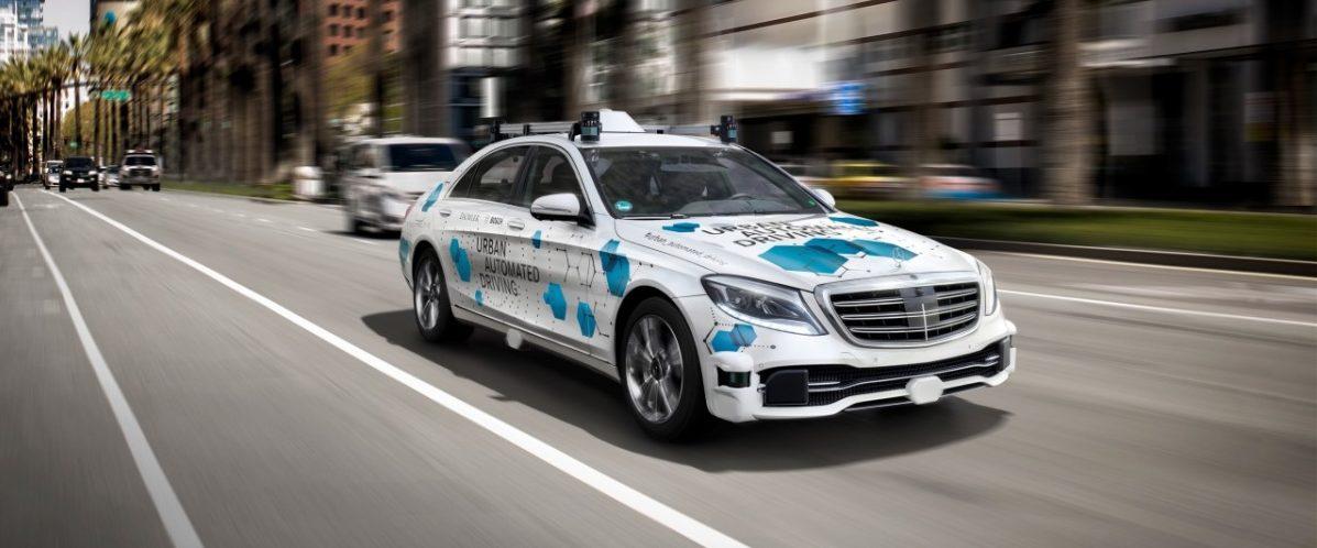 Automatická služba spolujazdy od firmy Bosch a Daimler