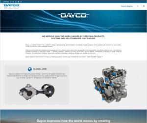 Nové webové stránky firmy Dayco, ktoré spájajú svet