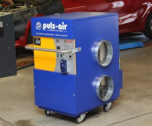 Mobilné ohrievanie Puls Air je k dostaniu výhradne u spoločnosti IHR-TECHNIKA