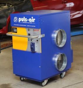 Mobilné ohrievanie Puls Air u spoločnosti IHR-TECHNIKA