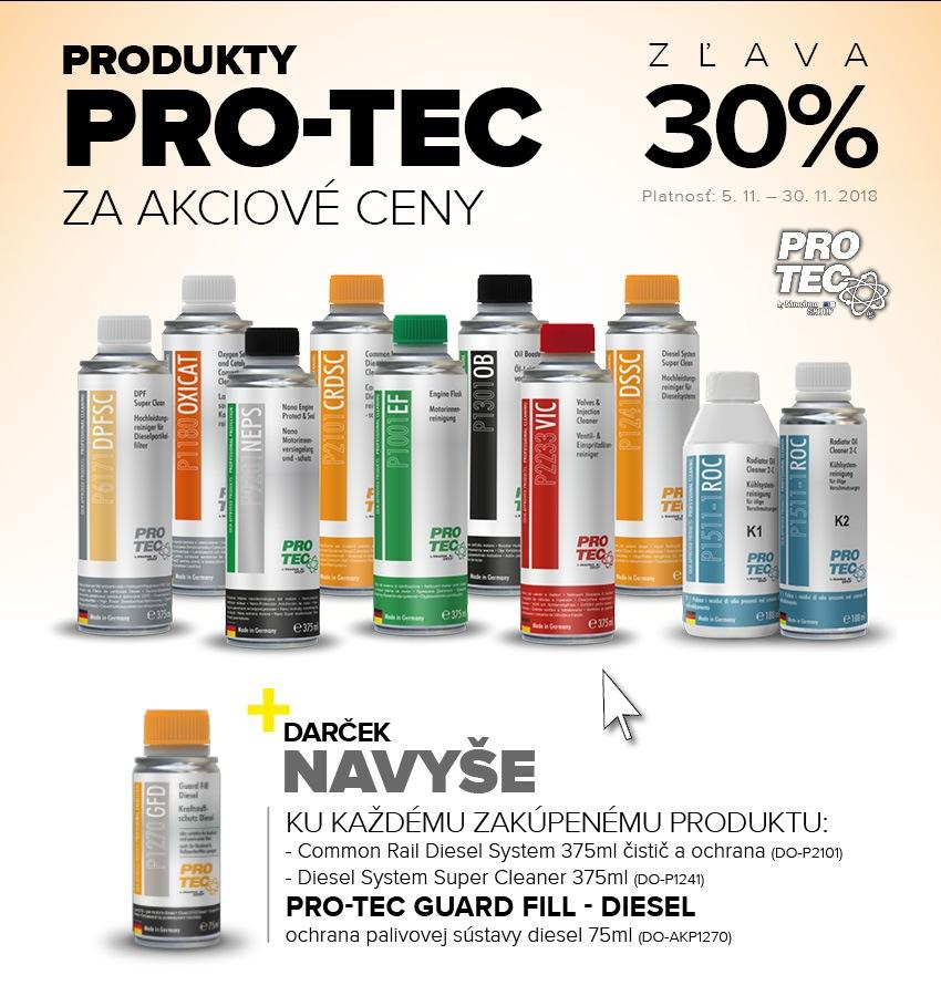 Akcia s produktami PRO-TEC u Auto Kelly