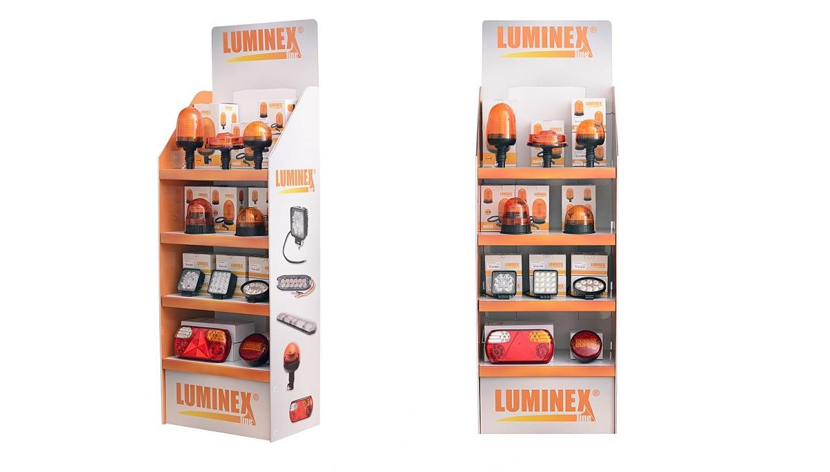 Kartónový display LuminexLine