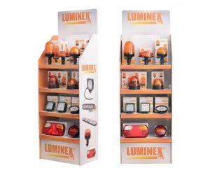 Kartónový display LuminexLine mieri do predajní