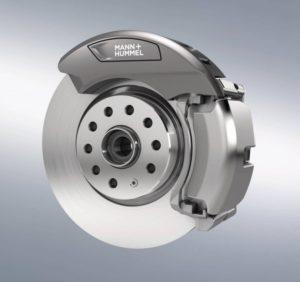 Filtr částic brzdového prachu od společnosti Mann + Hummel