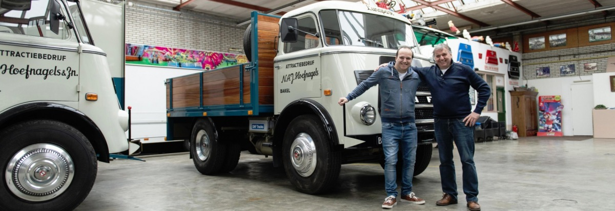 Päťdesiatročný DAF A1600 denne v prevádzke