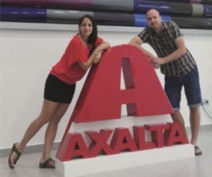 Zástupcovia firmy Interaction navštívili pobočku Axalto FZE v Dubaji