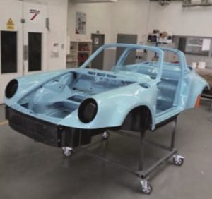 Projekt Porsche 911 u Interaction