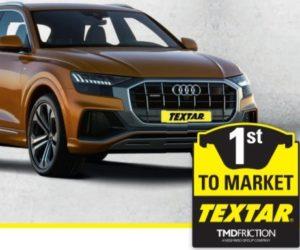 Brzdové doštičky Textar pre Audi Q8