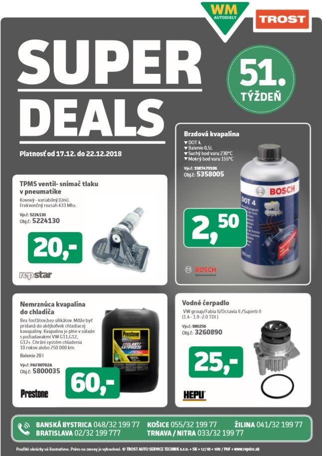 Super Deals Trost 51. týždeň